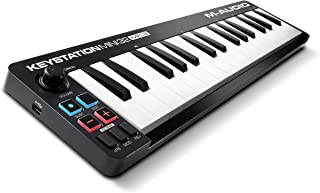 M Audio Keystation Mini 32 MK3 | Ultra Portable Mini USB MIDI Keyboard Controller With ProTools First | M Audio Edition and Xpand 2 by AIR Music Tech