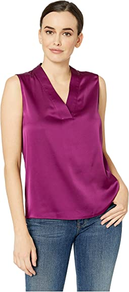 V-Neck Sleeveless Blouse