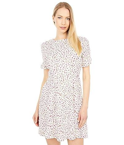 1.STATE Short Sleeve Mini Dress
