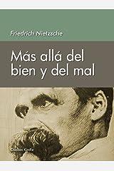 Más allá del bien y del mal (Spanish Edition) Kindle Edition