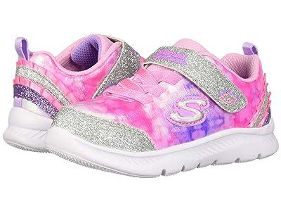 SKECHERS KIDS Sport Comfy Flex 2.0 Tiny Dancer 82171N (Toddler/Little Kid) (Pink/Lavender) Girl