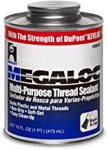 Best Oatey 15808 Hercules Megaloc Multi-Purpose Thread Sealant, 16 Oz, Can, Blue, Liquid Paste, 473 ml, Bule Review