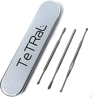 耳快感【厳選の3本】5種類の形状で十分 ソフトタッチで気持ちいいほど良く取れる 耳かき 水洗いでいつも清潔/TeTRaL