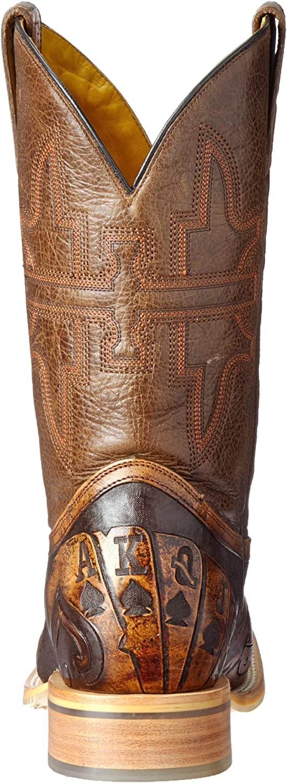 Tin Haul Shoes Mens The Gambler Western Boot