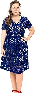 7271789084c85 Amazon.com: 5X - Dresses / Plus-Size: Clothing, Shoes & Jewelry