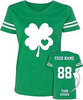 128d55746 Custom Jersey Style St Patrick's Day T Shirts - Saint Pattys Tee & Irish  Outfits