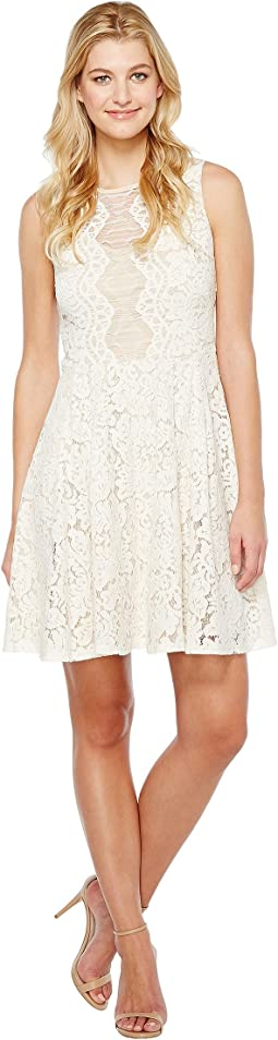 Christin Michaels - Harriet Sleeveless Lace Dress
