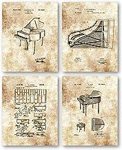 Original Baby Grand Piano Drawings - Music Studio or Practic