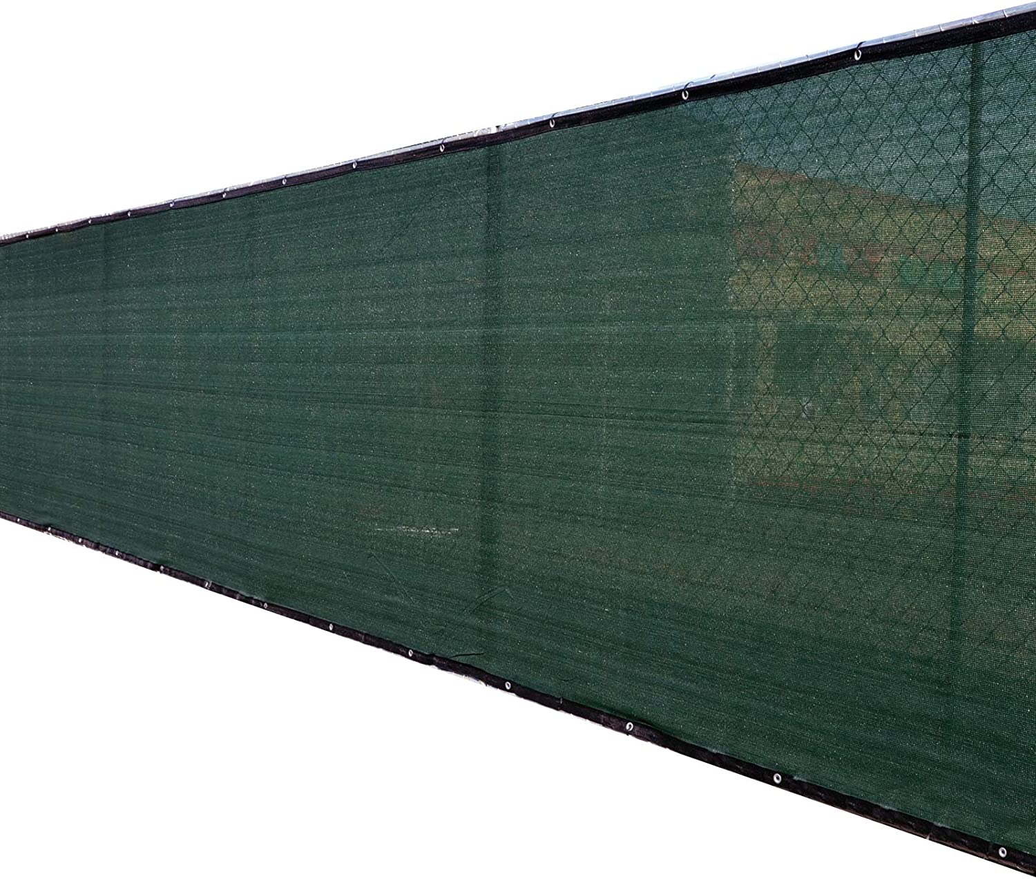 Fence4ever 8'x25' 3rd Gen Olive Privacy El Paso Mall Dark Fence Screen Houston Mall Green