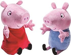 Peppa and George Giggle N' Wiggle Plush