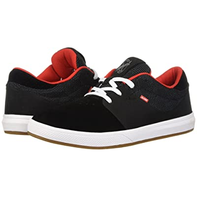 Globe Mahalo SG (Black Knit/Red) Men