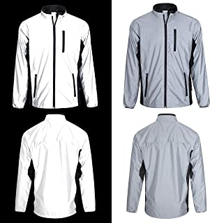 BTR High Visibility Be Totally Reflective Silver Jacket - Reflective and High Vis