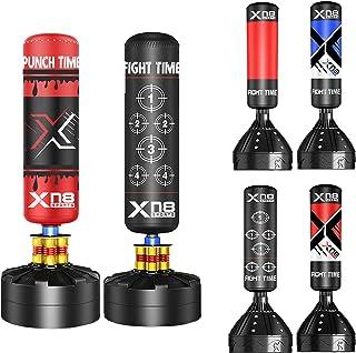 comprar comparacion XN8 6ft Saco de Boxeo de Pie para Kick Boxing con Soporte - Muay Thai, Artes Marciales, MMA, Tarea Pesada, Boxeo Saco