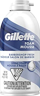 Gillette Foam Barbershop Fresh Shave Foam, 311g