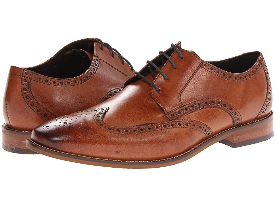 Florsheim Castellano Wingtip Oxford (Saddle Tan) Men