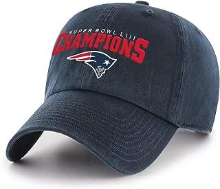 NFL Men's OTS NFL 2019 Superbowl 53 Champions Challenger Adjustable Hat