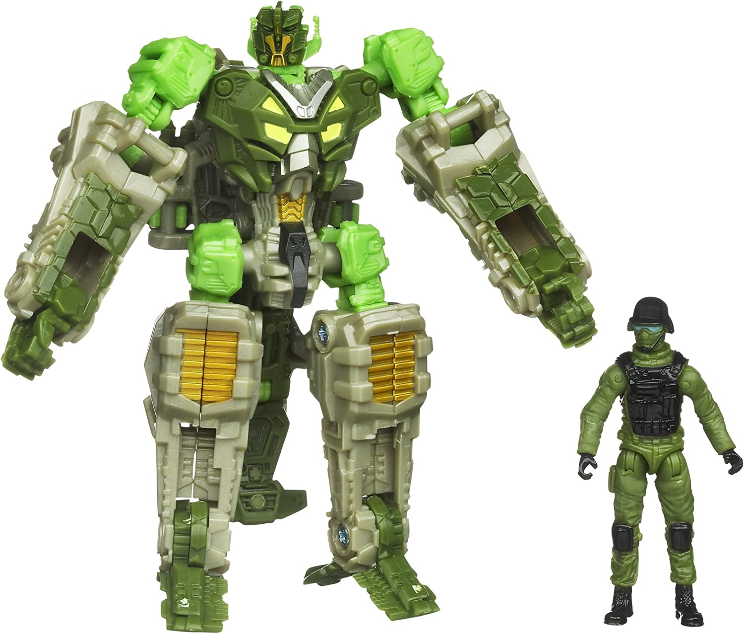 Transformers Human Alliance Crosshairs With Sergeant Cahnay