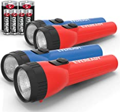 EVEREADY LED Flashlight Multi-Pack, Bright and Durable, Super Long Battery Life, Use for Emergencies, Camping, Outdoor, Ba...