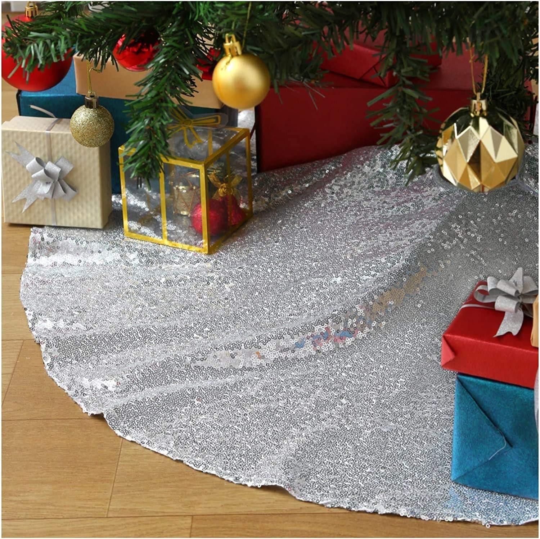 カーペット Max 76% OFF Our shop most popular Sparkly Tree Skirt Fabric Sequ Gold Carpet Round