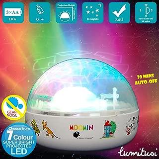 Moomin Moving Aurora Night Light Projector by Lumitusi