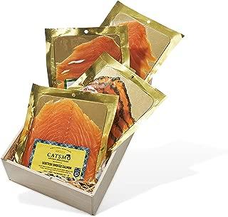 Catsmo Smoked Salmon Collection - 4 x 4oz Packs
