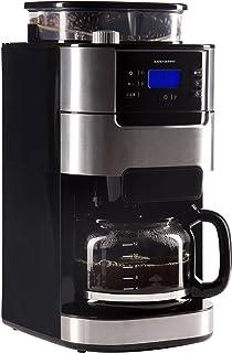 comprar comparacion Ultratec Cafetera automática con molinillo y función de temporizador, cafetera automática, cafetera, incl. jarra de crista...