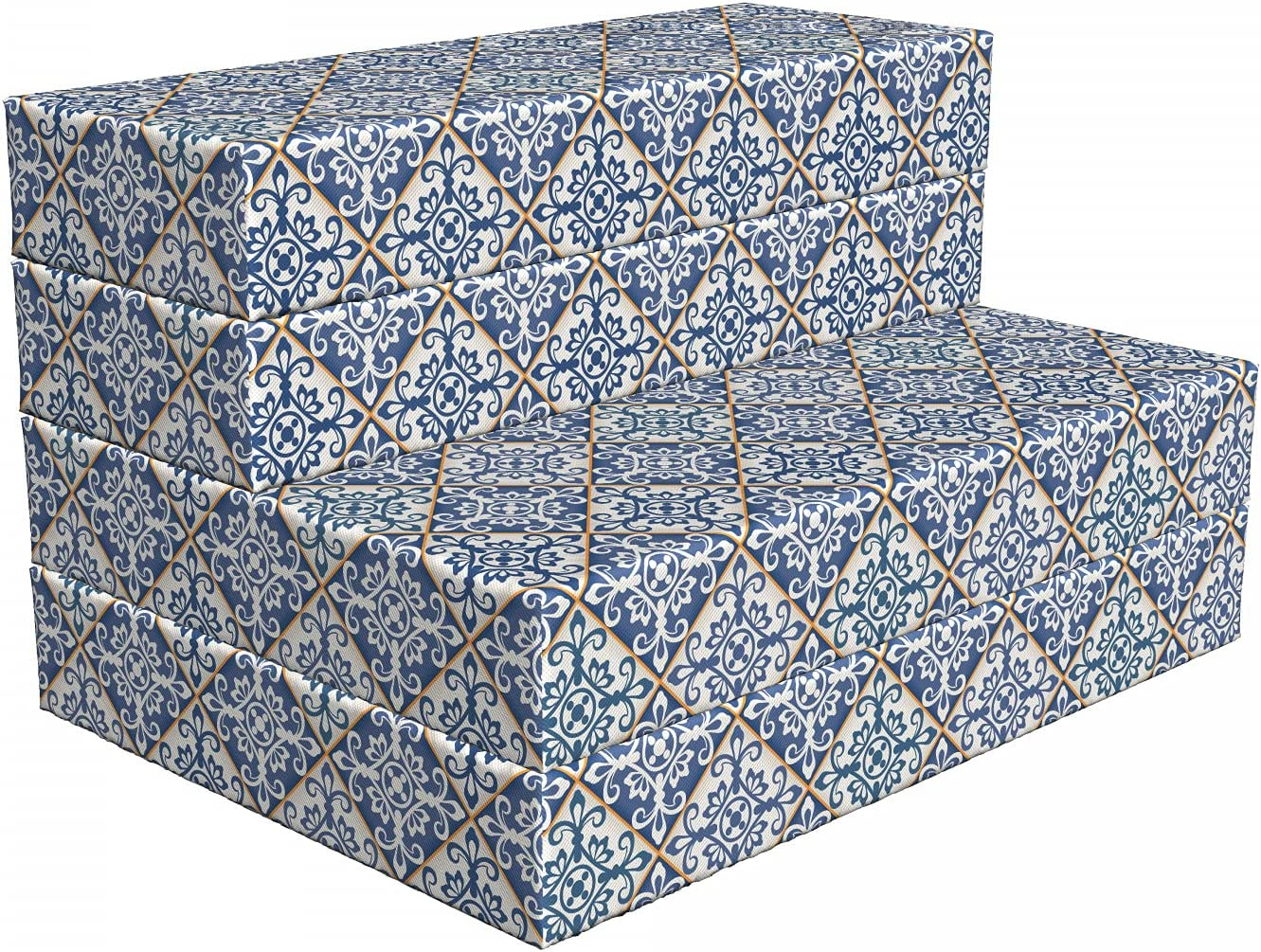 Ambesonne Moroccan Foldable Mattress Ceramic Motif Free shipping anywhere in the nation 74. Azulejo Ranking TOP8