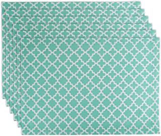 """DII Lattice Cotton Table Runner for Dining Room, Foyer Table, Spring Parties and Everyday Use - 14x108"""" Placemats CAMZ10491"""