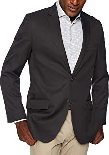 Haggar Mens HZ00243 Active Series Stretch Classic Fit Suit Separate Coat Business Suit Jacket