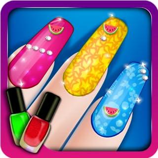 Fashion Girls Nail Salon! (Kindle Tablet Edition)