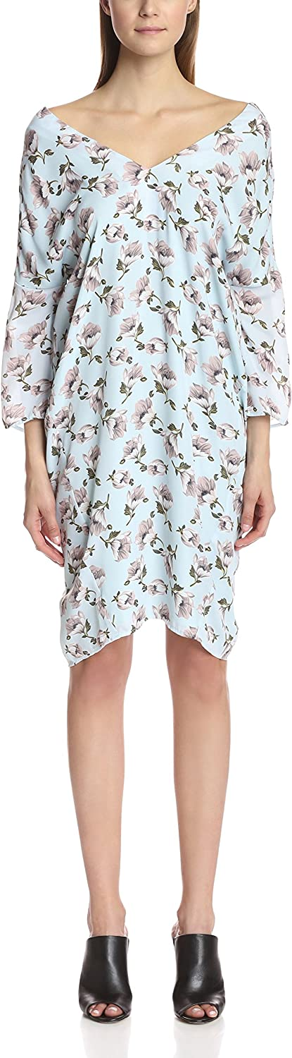 Lucca Couture Women's Midi Cocoon Dress