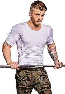 【超加圧版】加圧シャツ メンズ 加圧インナー コンプレッションウェア ダイエット 補正下着 スポーツインナー トレーニング お腹引き締め 脂肪燃焼