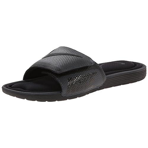 half off 9d5a4 7ae0b NIKE Men s Solarsoft Comfort Slide Sandal