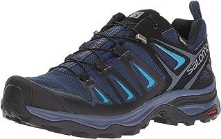 Salomon Women's X Ultra 3 GTX Trail Running Shoe, Medieval Blue/Black/Hawaiian surf, 8 M US
