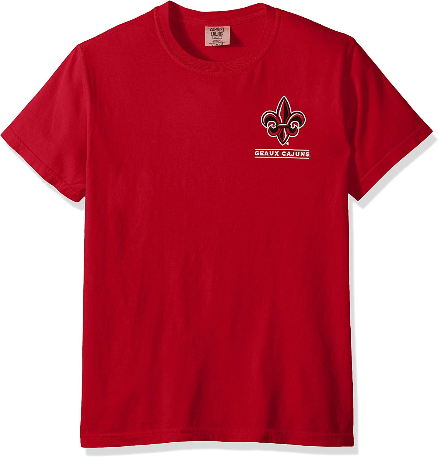 New World Graphics Unisex-Adult NCAA Puff Arch Short Sleeve 25992WCSS