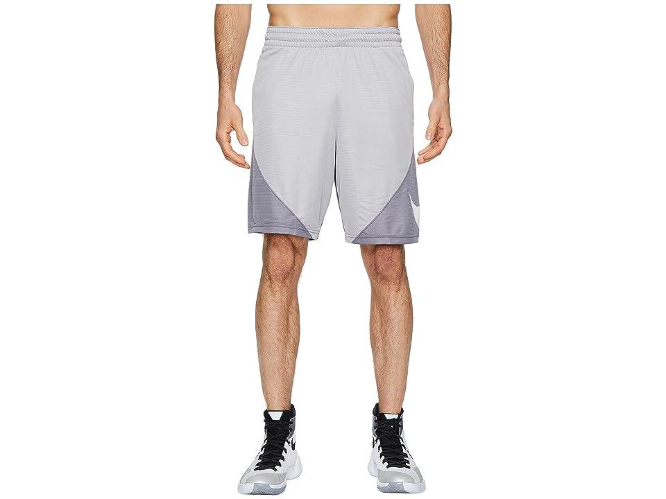 Nike Dry 9 Basketball Short (Atmosphere Grey/Gunsmoke/White) Men