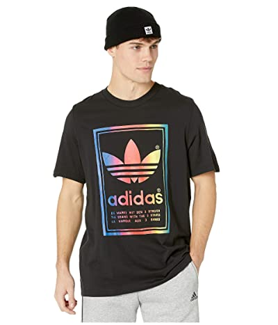 adidas Originals Vintage Tee (Black/Multicolor) Men