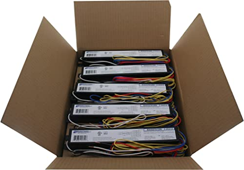 ROBERTSON 1P20135 IEA432T8120N /B OEM-Pak of 10 Fluorescent eBallasts (3P20135) for 4 F32T8 Linear Lamps, Instant Sta...