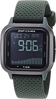 Rip Curl Men's Quartz Sport Watch with Silicone Strap, Grey, 22.3 (Model: A1137MIL1SZ)