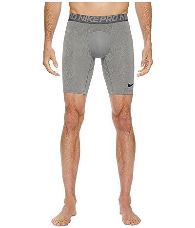 Nike Pro Short (Carbon Heather/Dark Grey/Black) Men
