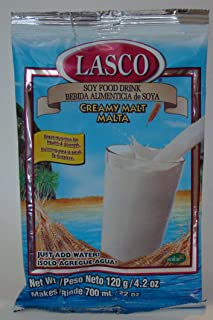 Lasco Soy Food Drink - Creamy Malt Flavor - Product of Jamaica