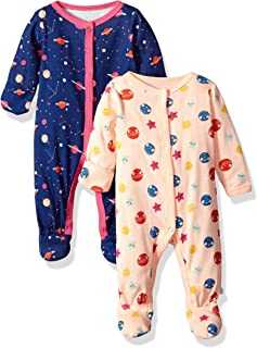 Baby Girls' 2 Pack Coveralls