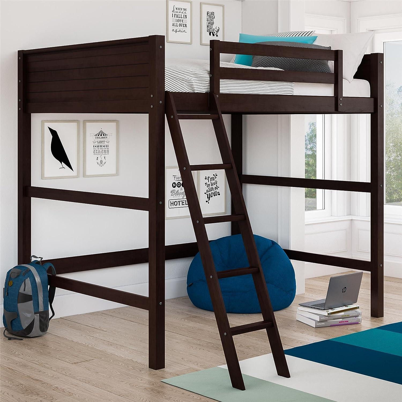 Buy Dorel Living Denver Loft Bed Full Espresso Online In Turkey B07fq8hjpc