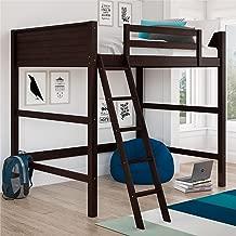 Best black wood loft bed with desk Reviews