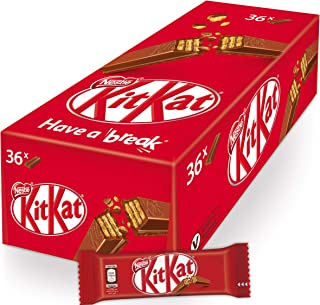 NESTLE KITKAT 2 Finger Milk Chocolate Wafer Bar 20.5g (36 Pieces)