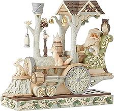 Enesco Jim Shore Heartwood Creek Woodland Santa/Train Engine Figurine