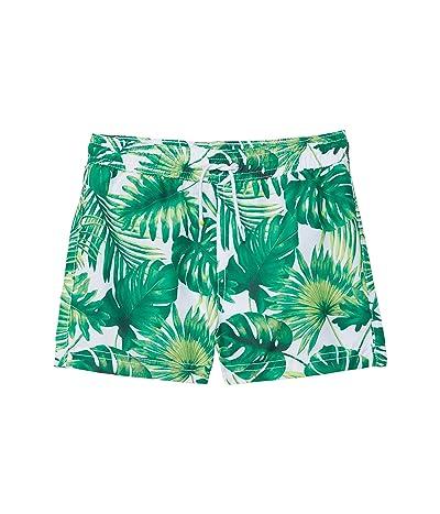 Janie and Jack Palm Print Swim Shorts (Toddler/Little Kids/Big Kids)