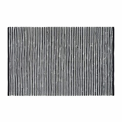 Black And White Striped Rug Amazoncouk
