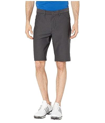 adidas Golf Ultimate Heather Five-Pocket Shorts (Black Heather) Men