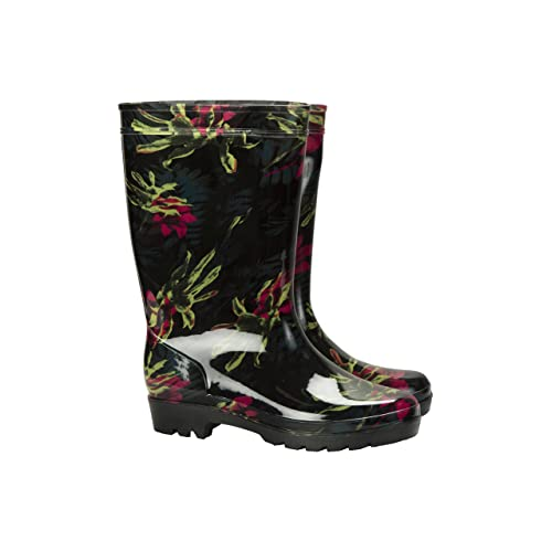 fe9386bb5 Mountain Warehouse Splash Floral Womens Wellies